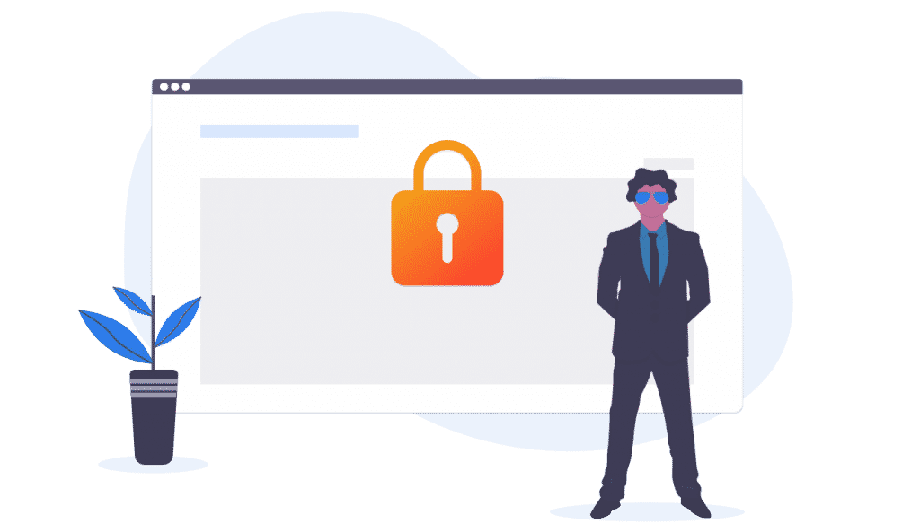 Email Security Best Practice lead illustration