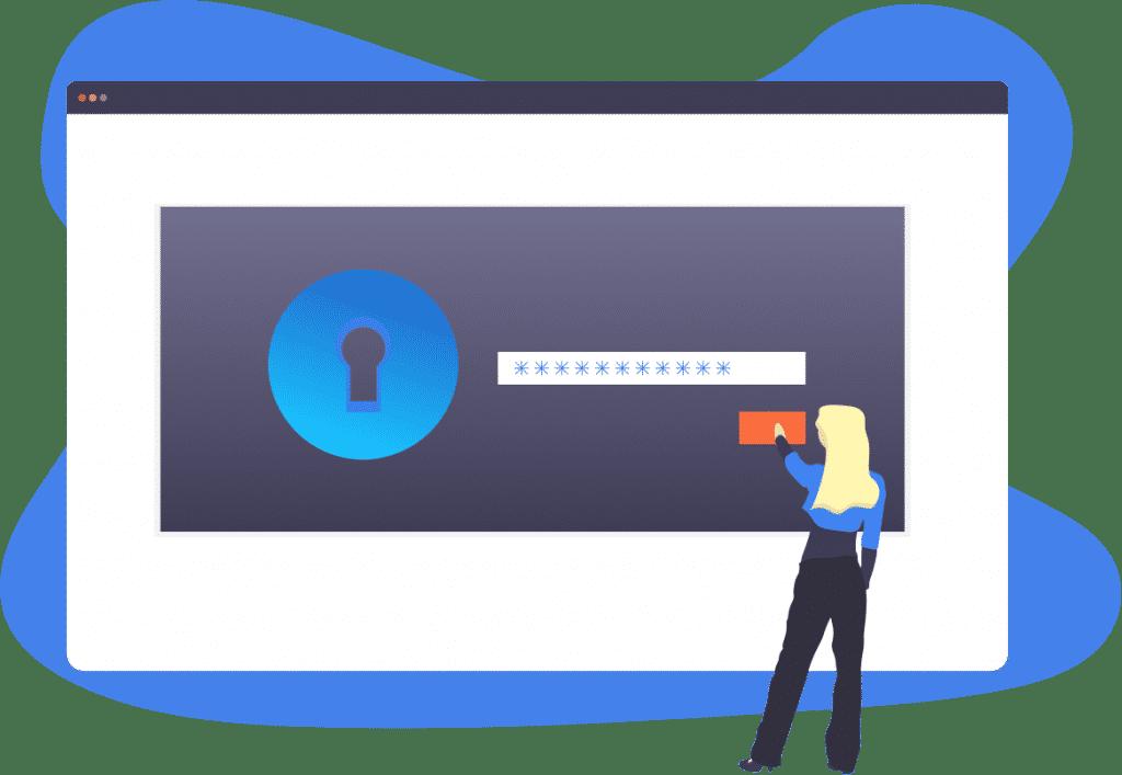 Email Password Illustration